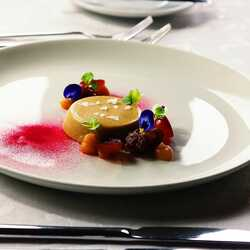 Duck liver with grape and quince